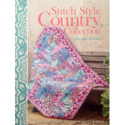 "Libro Patchwork ""Stitch Style Country"". Colección Margaret Rowan"