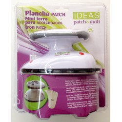 Mini plancha Patchwork 400w, con o sin vapor para patchwork, costura y manualidades. Ideas Patck&Quilt