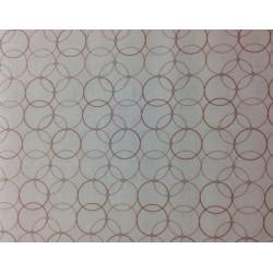 "Tela Patchwork estampadao geométrico. Colección ""Gossamer"" by Shell Rummel."