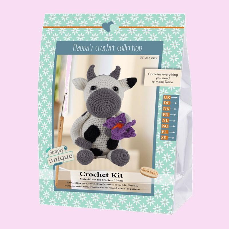 Vaca Amigurumi Al Crochet Muñeco Tejido - $ 750,00 en Mercado Libre | 800x800