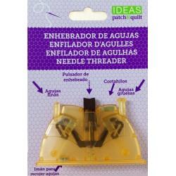 ENHEBRADOR de agujas Ideas Patch&Quilt. Para agujas con agujero grande y pequeño.