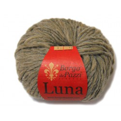 Lana Luna color marrón. (Borgo di Pazzi)